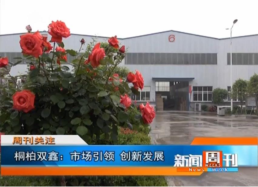 """河南(桐柏)双鑫接受南阳电视台""""商都在线""""的专访!"""