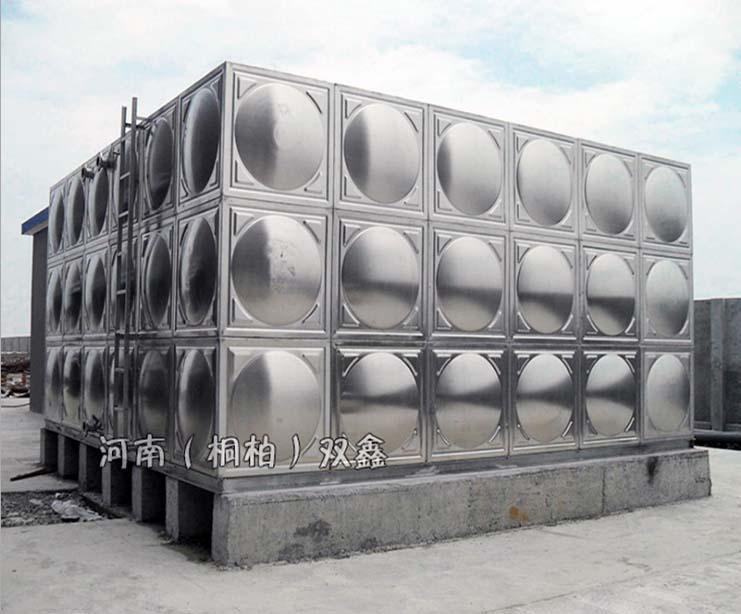 河南双鑫:如何看待304不锈钢水箱生锈问题?